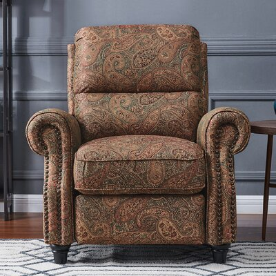 Hesse Manual Recliner Upholstery: Paisley