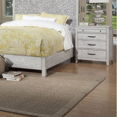 Orellana 3 Drawer Nightstand