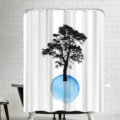 Ikonolexi Tree Shower Curtain