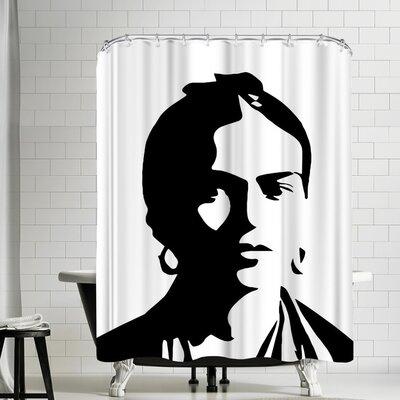 Ikonolexi Frida Kahlo Shower Curtain