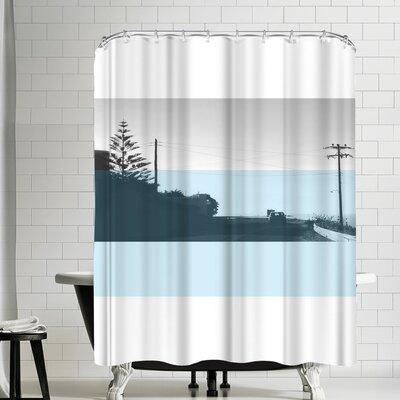 Ikonolexi Naxos Shower Curtain