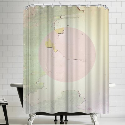 Ikonolexi Abstract Shower Curtain
