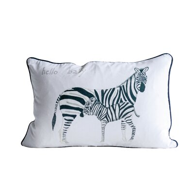 Lexington Avenue Zebra Cotton Throw Pillow