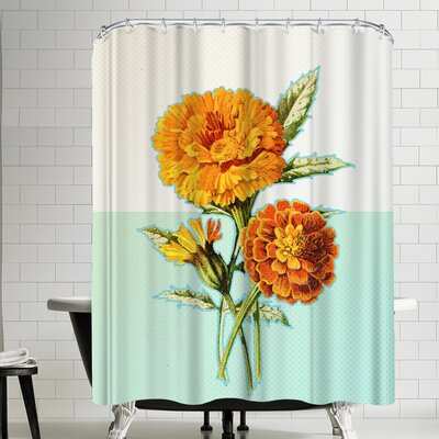 Ikonolexi Marigold Shower Curtain