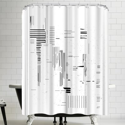 Ikonolexi Modern Minimalist Shower Curtain