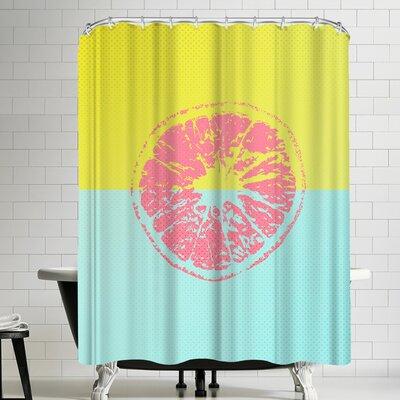 Ikonolexi Grapefruit Shower Curtain