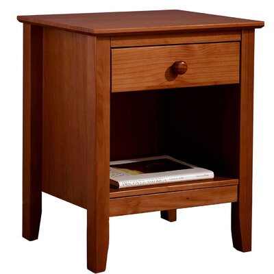 Tanksley End Table with Storage