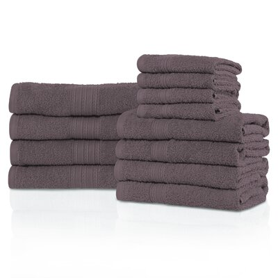 Kellerman Eco-Friendly 12 Piece Towel Set Color: Graphite