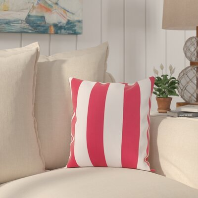 Molesley Throw Pillow Color: Red