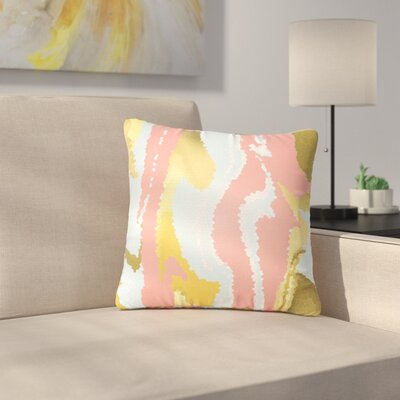 Alison Coxon Modern Mosaic Abstract Outdoor Throw Pillow Size: 16 H x 16 W x 5 D