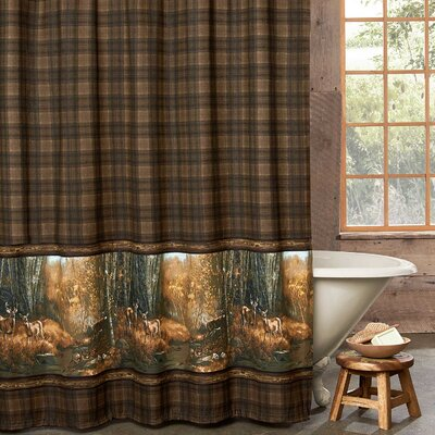 Taliaferro Cotton Shower Curtain