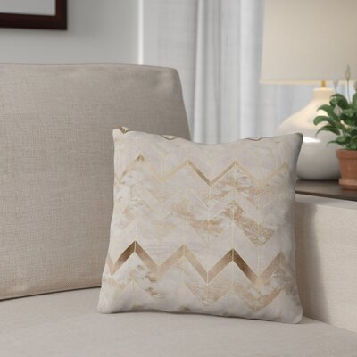 Chic Chevron Throw Pillow Size: 18 x 18