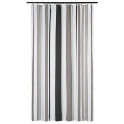 Driftwood Stripes Shower Curtain