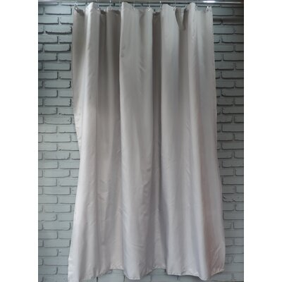 Ingleside Shower Curtain Color: Dove Gray
