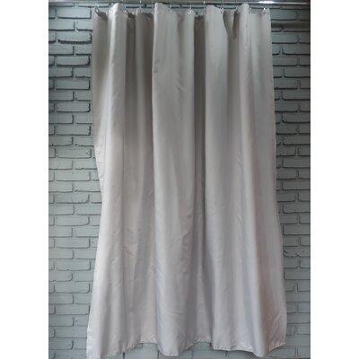 Ingleside Shower Curtain Color: Dove Gray