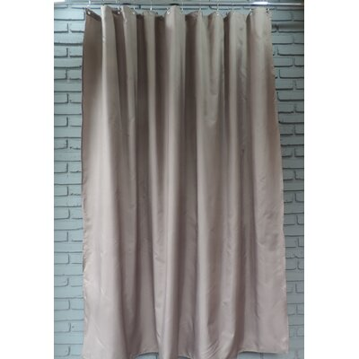 Ingleside Shower Curtain Color: Walnut Brown