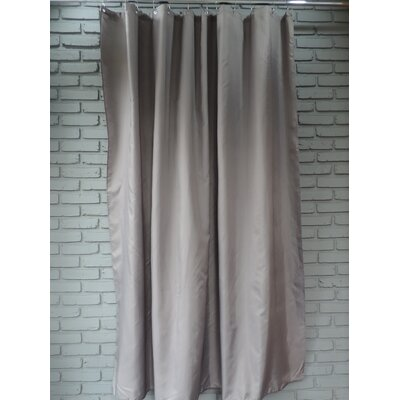 Ingleside Shower Curtain Color: Dark Gray