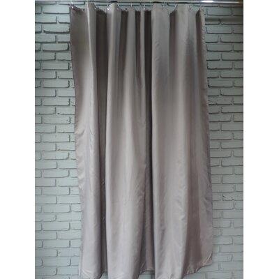 Ingleside Shower Curtain Color: Dark Gray
