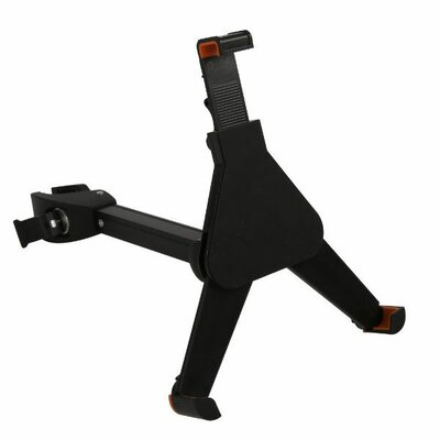Microphone Tube Pole Clamp Mount Tablet Holder Accessory