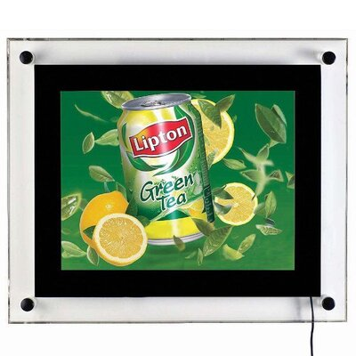 Acryled for Wall Mounting Size: 15.47 H x 12.95 W