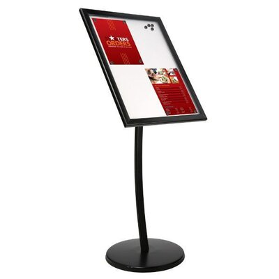 Universal Showboard on Curved Post with Magnet