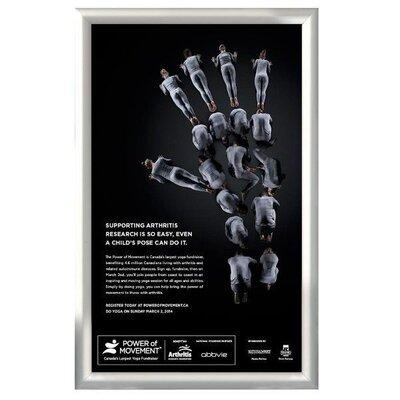 Snap Frame Size: 24 H x 16 W x 0.47 D