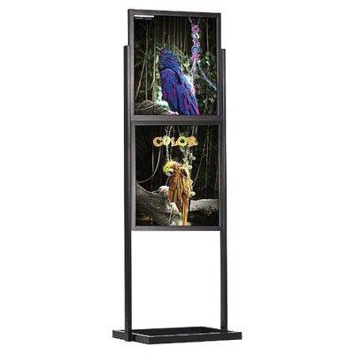 Eco Info board Color: Black, Size: 28.91 H x 22.91 W