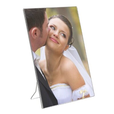 Acrylic Photo Frame with Support Portrait Size: 7.12 H x 5 W