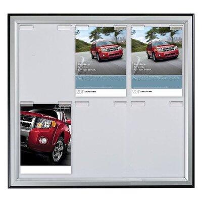 Paper Board Frame Size: 25.91 H x 29.92 W x 0.59 D