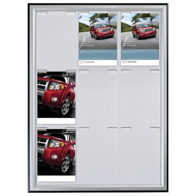 Paper Board Frame Size: 37.02 H x 29.92 W x 0.59 D