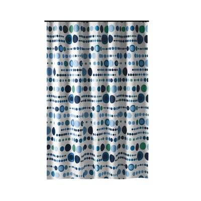 Drewry Polka Dot Shower Curtain