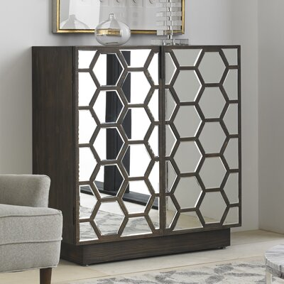 Honeycomb Bar Cabinet