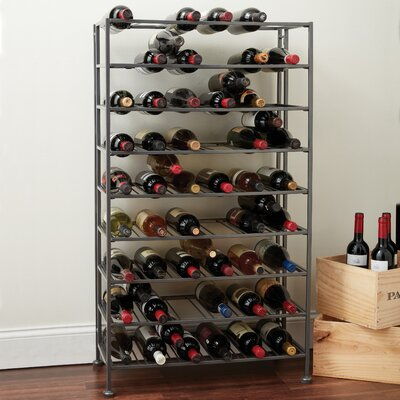Folding Metla 54 Bottle Floor Wine Rack