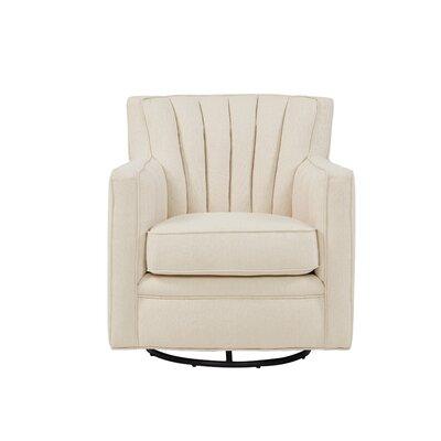 Eady Swivel Armchair Upholstery: Oatmeal