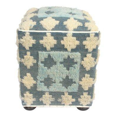 Pullins Morrocan Wool Upholstered Handmade Ottoman