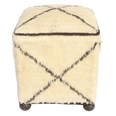 Oakridge Morrocan Wool Upholstered Handmade Ottoman