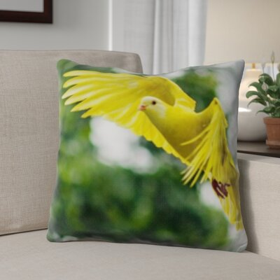 Bellino Bird Flying Throw Pillow