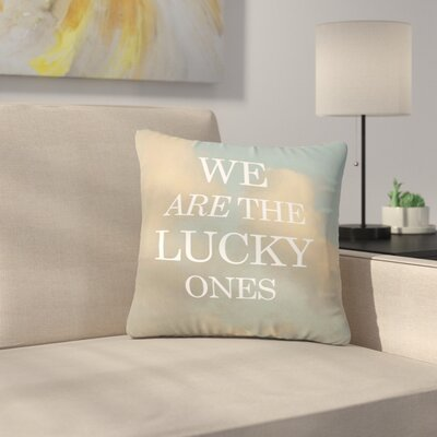 The Lucky Ones Nature Outdoor Throw Pillow Size: 18 H x 18 W x 5 D
