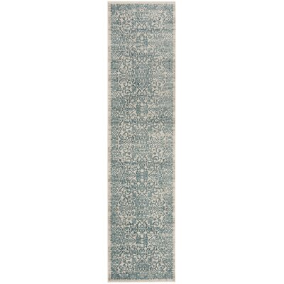 Van Andel Blue/Beige Area Rug Rug Size: Rectangle 8 x 10