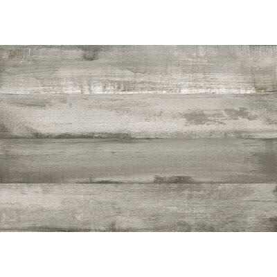 SAMPLE - Timber Glazed Porcelain Wood Look Tile in Gray