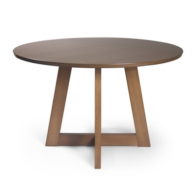 Crites Dining Table Color: Light Walnut