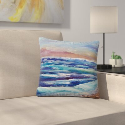 Cyndi Steen Beach Dreams Outdoor Throw Pillow Size: 18 H x 18 W x 5 D