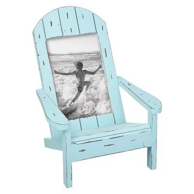 Desirae Coastal Chair Picture Frame