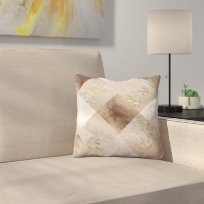 Chic Throw Pillow Size: 16 x 16