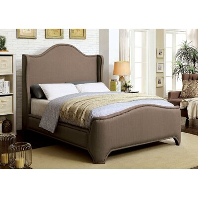 Janson Upholstered Platform Bed Size: Queen