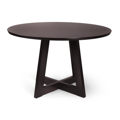 Crites Dining Table Color: Rich Coffee