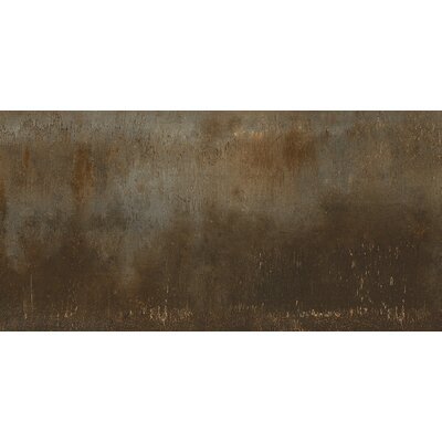 Steelwalk 12 x 24 Porcelain Field Tile in Rust