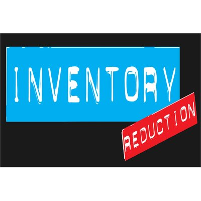 Inventory Reduction Banner Size: 24 H x 36 W x 0.18 D