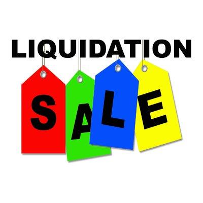 Liquidation Sale Banner Size: 24 H x 36 W x 0.18 D