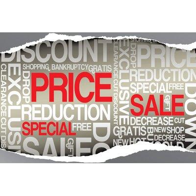 Super Sale Banner Size: 24 H x 36 W x 0.18 D